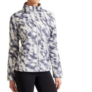 Athleta Altitude Full Zip Goose Down Filleed Coat